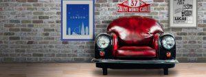 Classic Mini Cooper Armchairs for Sale in London from MiniRetro