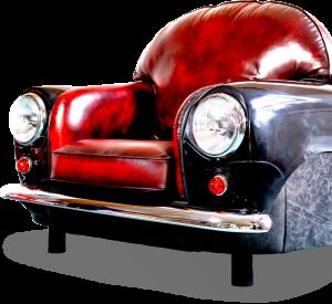 Retro Mini Cooper Armchair Features