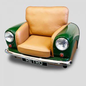 British Racing Green Mini Cooper Armchair - MiniRetro