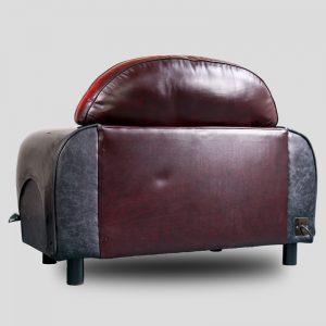 The Classic - Gloss Black Mini Cooper Armchair - MiniRetro