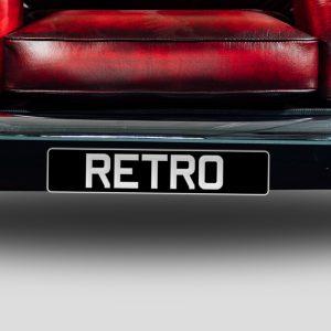 MiniRetro Accessories - Personal Registration Plates